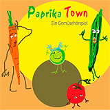 Paprikatown-CD-Cover (by Jens Buhl)